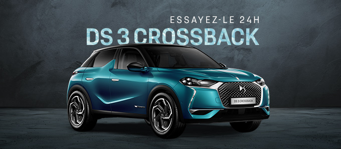 DS 3 Crossback 24h 680X298